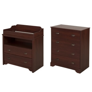 Fundy Tide - Changing Table and 4-Drawer Chest Set
