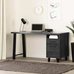 Kozack - Computer Desk with Power Bar