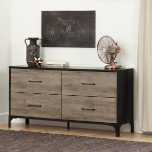 Valet - 4-Drawer Double Dresser