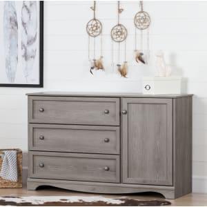 Savannah - 3-Drawer Dresser with Door