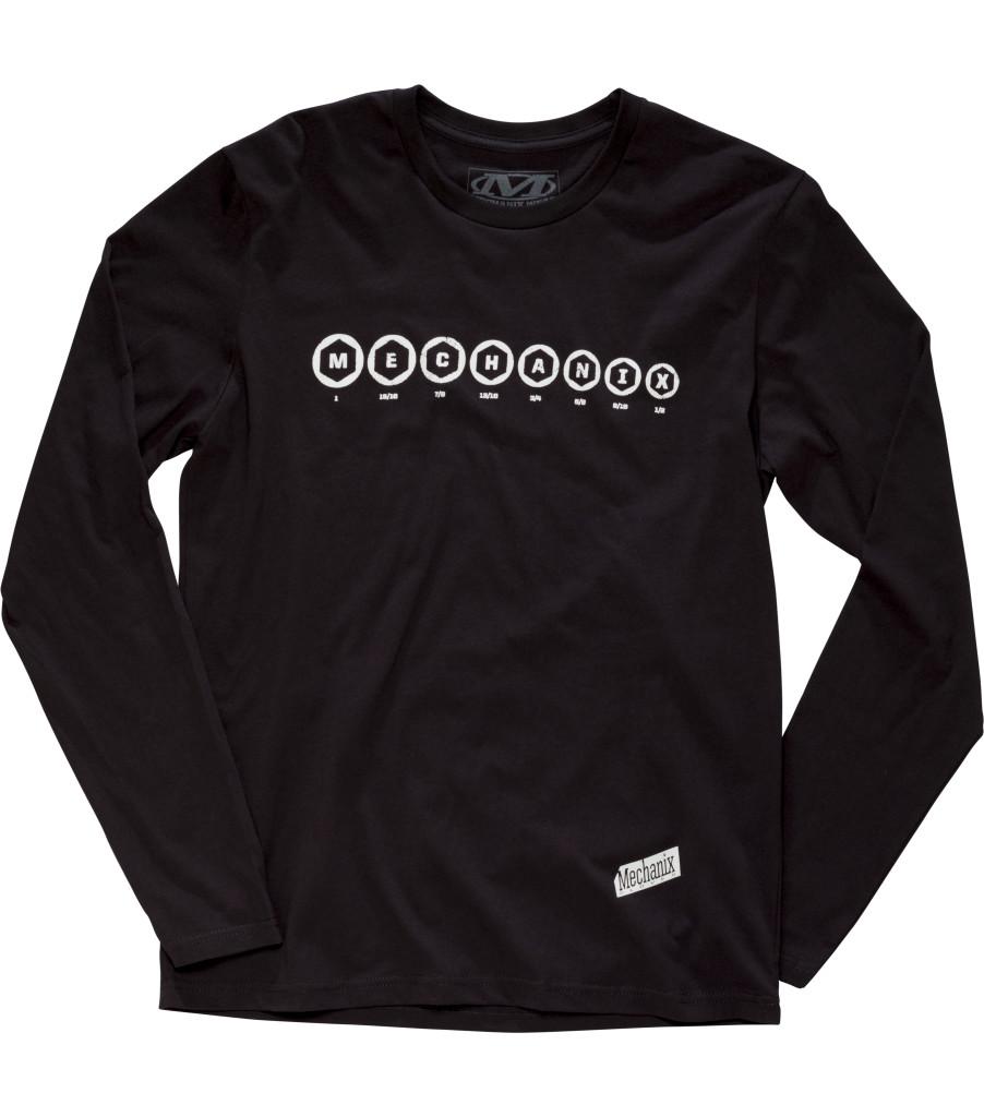 Socket Long Sleeve Shirt, Black, large image number 0