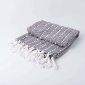 Madison - Woven Stripped Throw