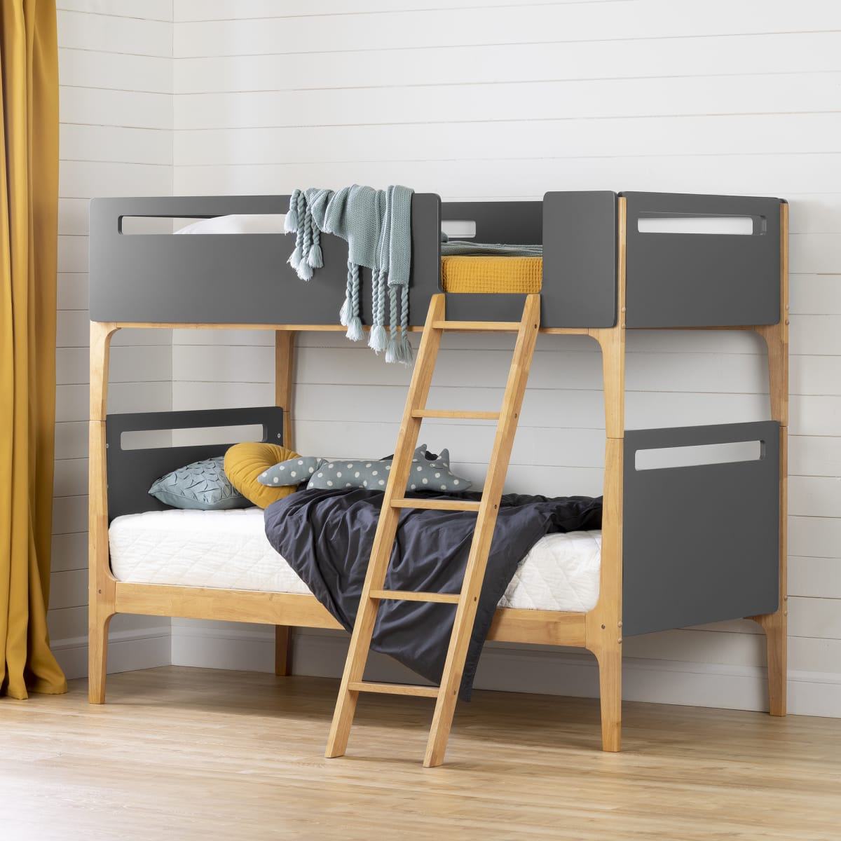 Bebble Modern Bunk Beds Bed Kids Bedroom Baby And Kids Products South Shore Furniture Us Furniture For Sale Designed And Manufactured In North America