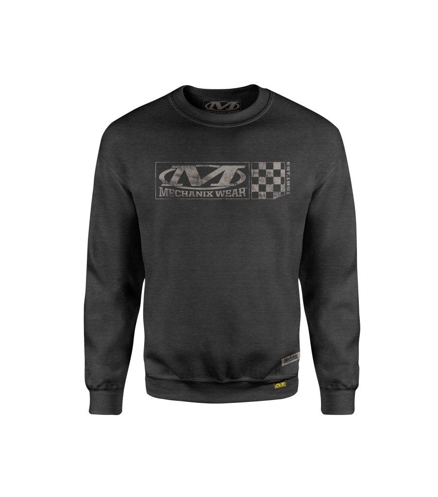 Velocity Crew Sweatshirt, Charcoal, large image number 0