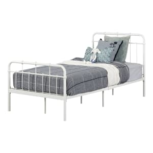 Cotton Candy - Metal Platform Bed