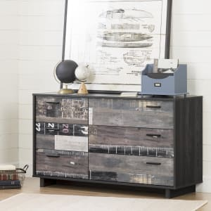Fynn - 6-Drawer Double Dresser