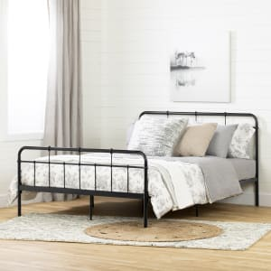 Plenny - Metal Platform Bed