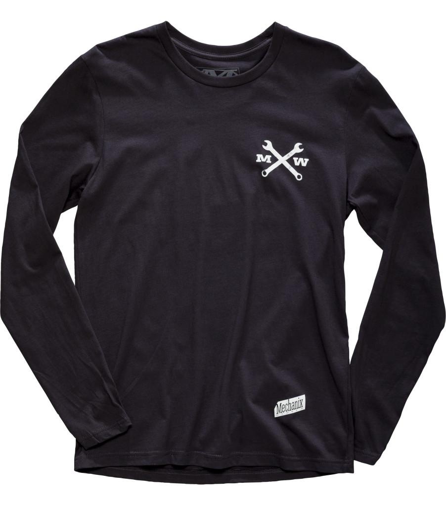 Race Division Long Sleeve Shirt, Black, large image number 0