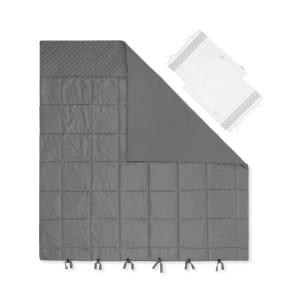 Lodge - Douillette imprimée avec taies d'oreiller