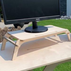 Nature - Support pour écran d'ordinateur en bois