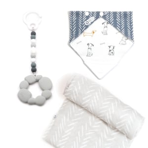 Elli - 3-Piece Gift Set for Babies Let's Go for a Walk!
