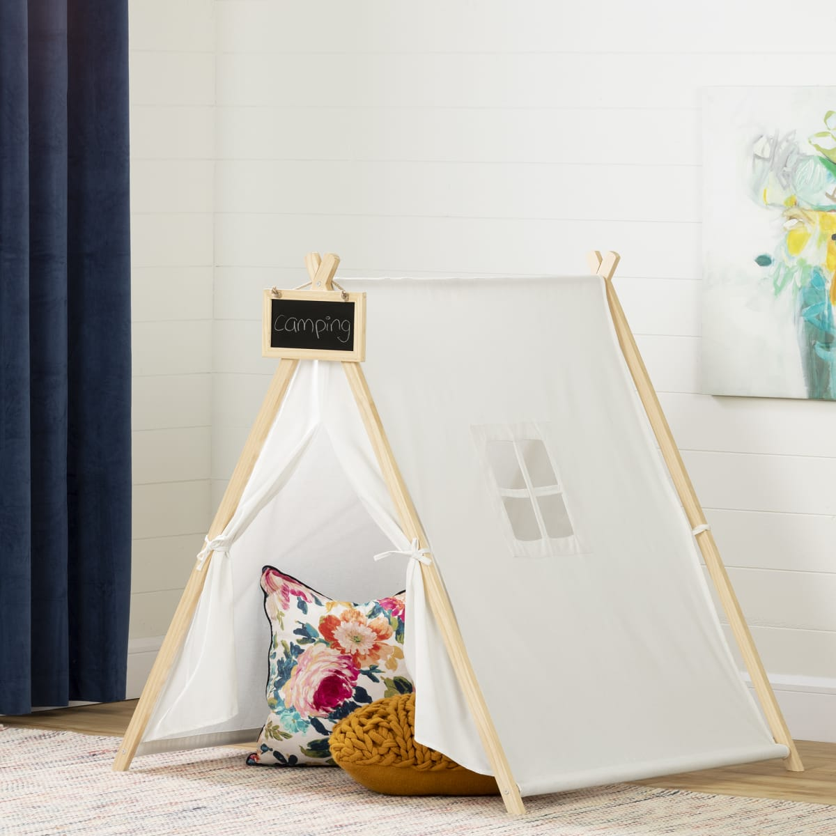 Sweedi Play Tent With Chalkboard Play Furniture Playroom Baby And Kids Products South Shore Furniture Us Furniture For Sale Designed And Manufactured In North America