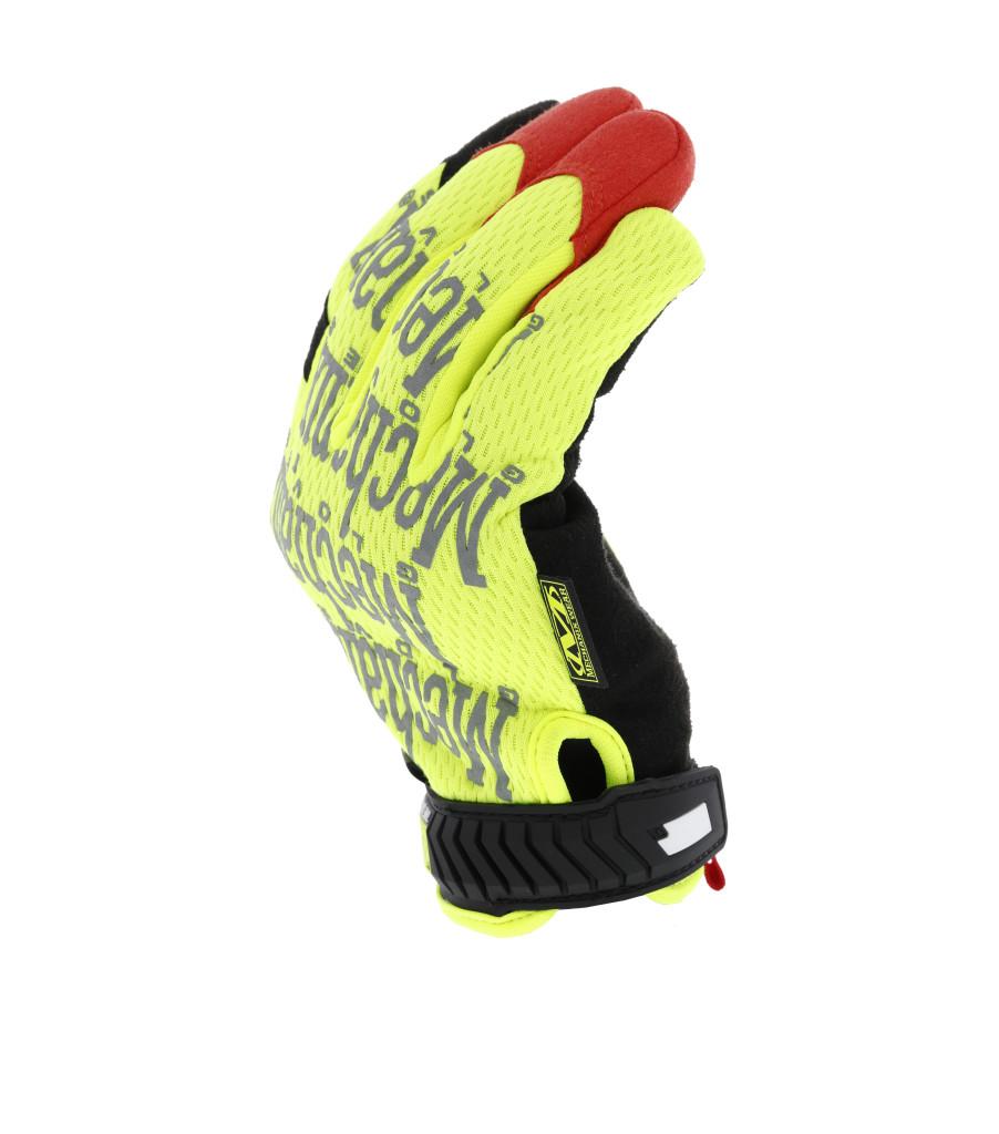 The Original® Hi-Viz D4-360 Cut Resistant, Fluorescent Yellow, large image number 4