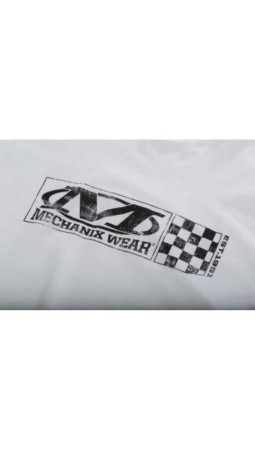 Velocity T-Shirt, White, large