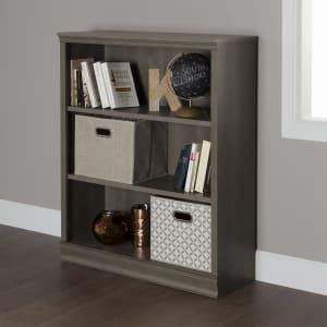 Morgan - 3-Shelf Bookcase