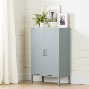 Crea - Metal 2-Door Accent Cabinet