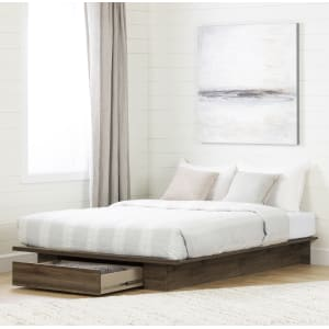 Tao - Platform Bed with Drawer
