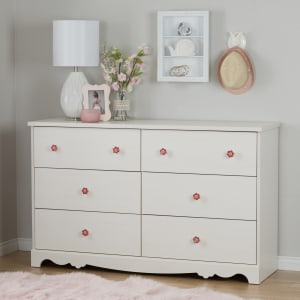 Lily rose - 6-Drawer Double Dresser