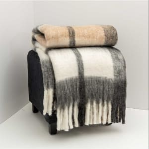Mission - Plaid Wool Throw