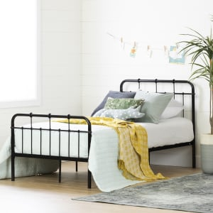 Cotton Candy - Metal Complete Bed