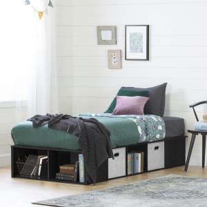 Flexible - Platform Bed with baskets