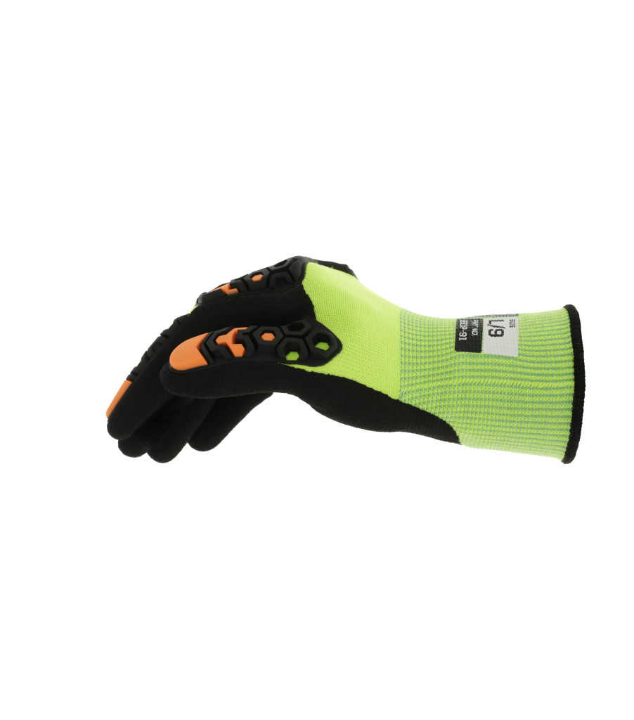 SpeedKnit™ M-Pact® Hi-Viz S5DP91, Fluorescent Yellow, large image number 3