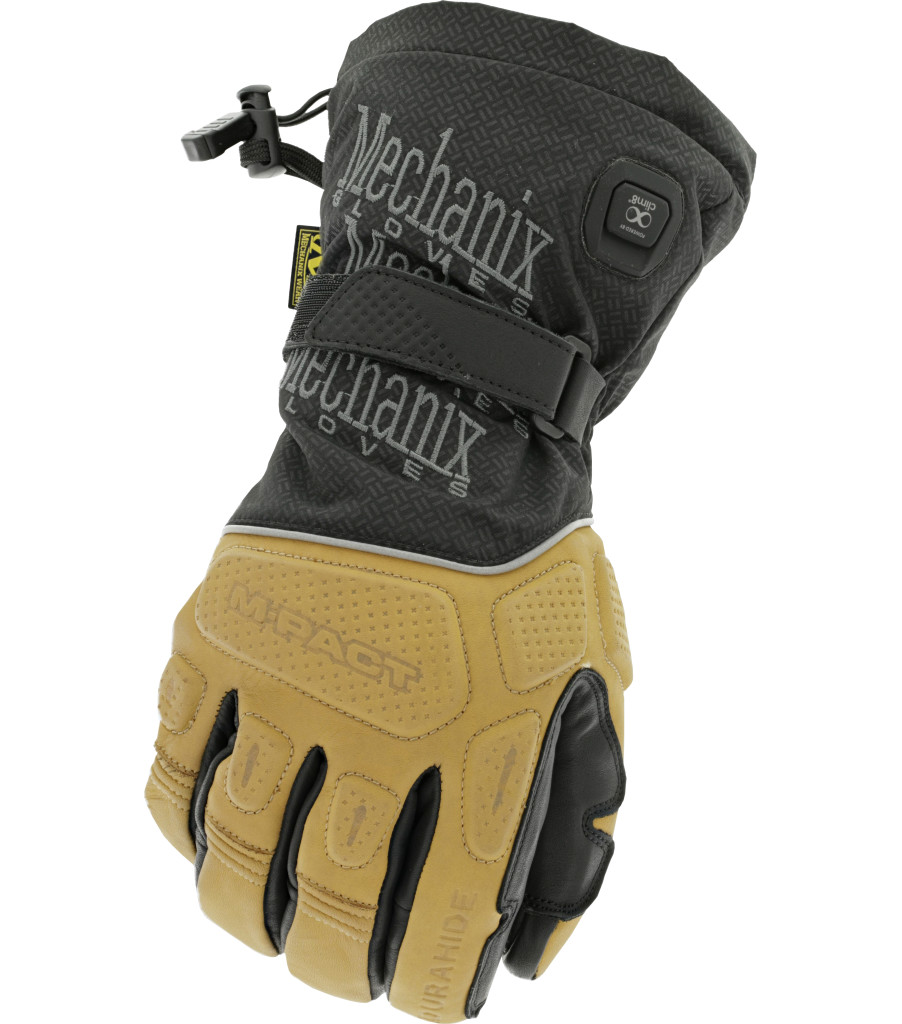 ColdWork M-Pact Heated Glove , Brown/Black, large image number 0