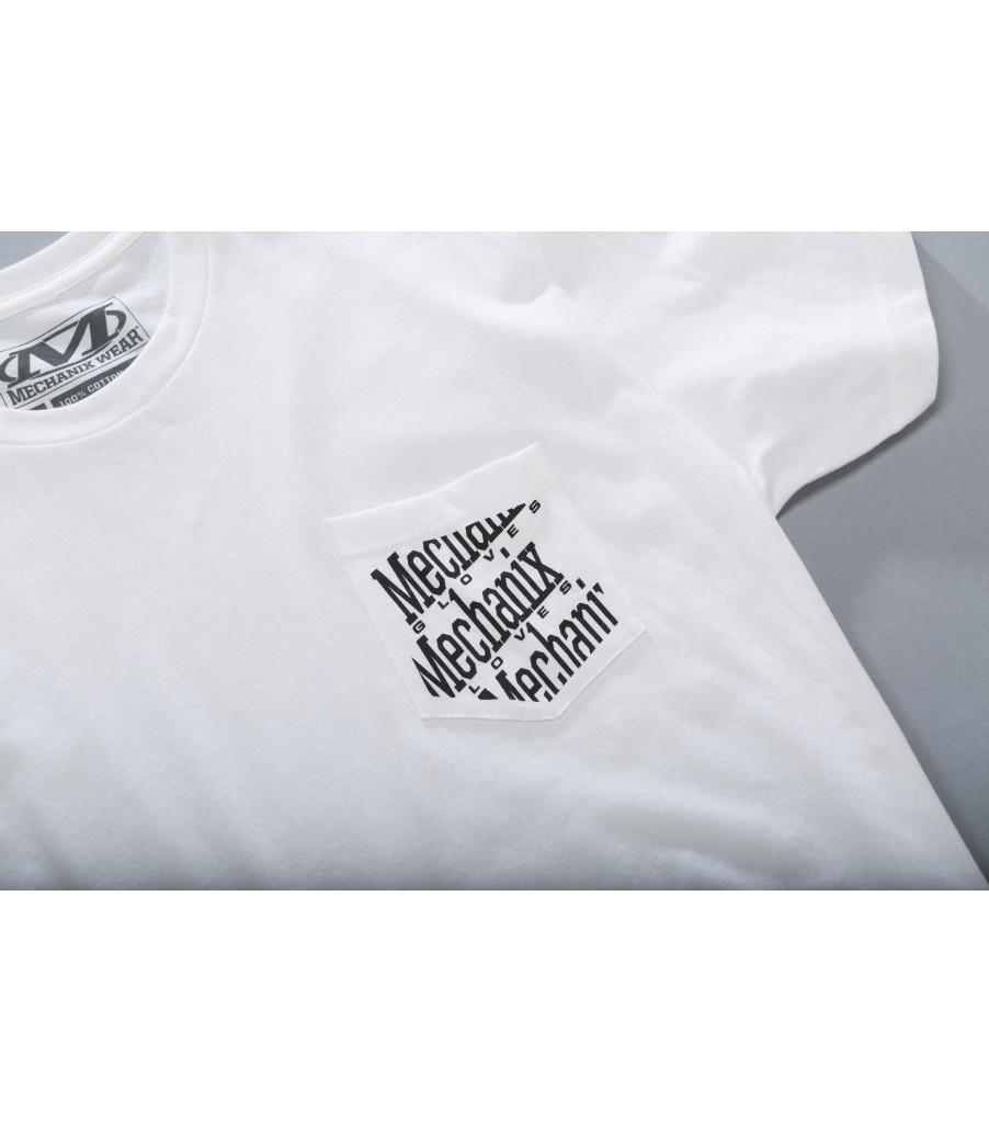 Pocket T-Shirt, White, large image number 1