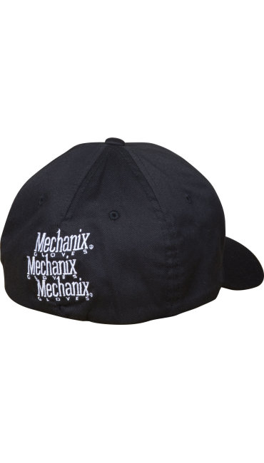 Logo Hat, Black, large