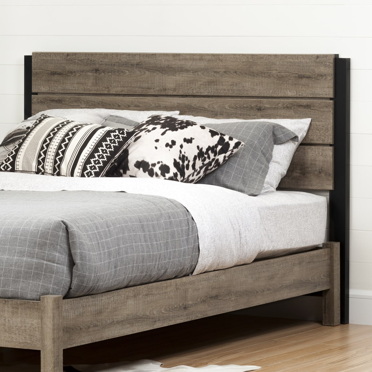 Munich Industrial Headboard Munich Collections Products South Shore Furniture Us Furniture For Sale Designed And Manufactured In North America