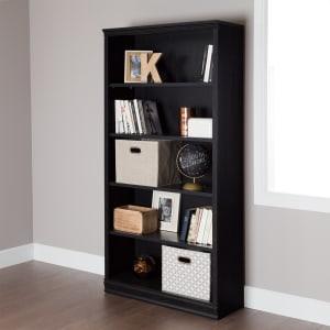 Morgan - 5-Shelf Bookcase