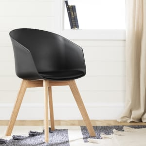 Flam - Chair with Wooden Legs