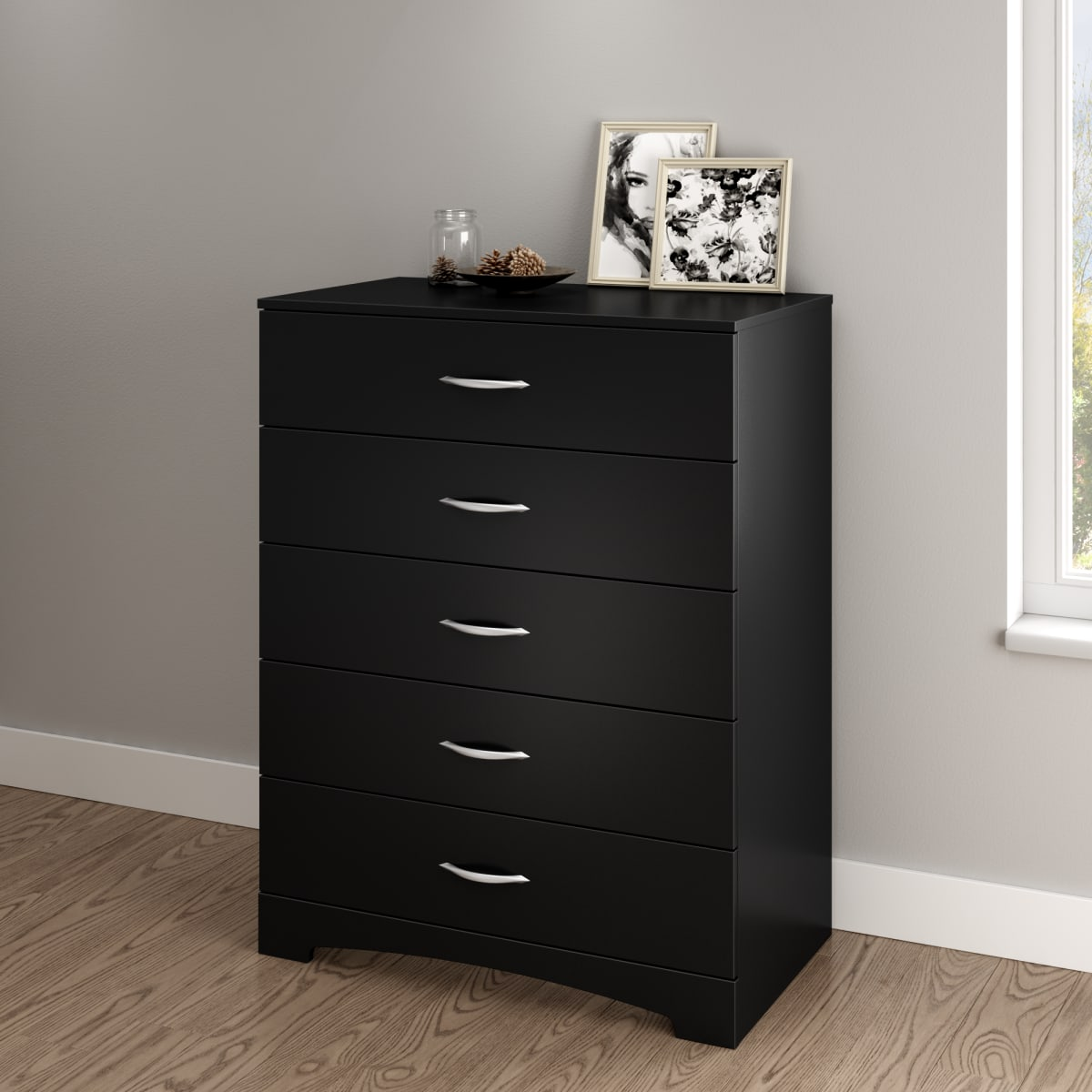 Step One 5 Drawer Chest Chest Master Bedroom Furniture Products South Shore Furniture Us Furniture For Sale Designed And Manufactured In North America