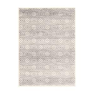 Avilla - Tapis décoratif Losanges vieillis