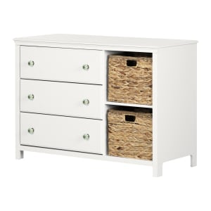 Balka - 3-Drawer Dresser with Baskets