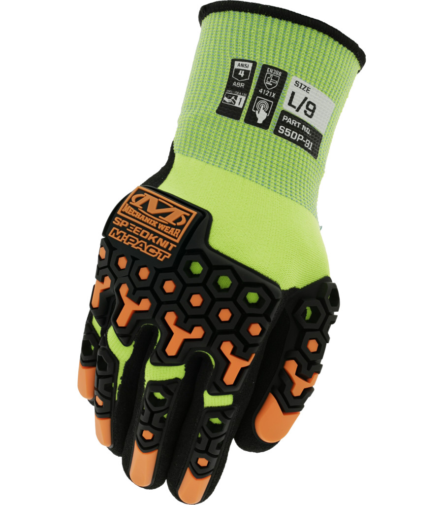 SpeedKnit™ M-Pact® Hi-Viz S5DP91, Fluorescent Yellow, large image number 0