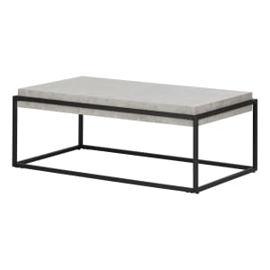 Mezzy - Modern Industrial Coffee Table
