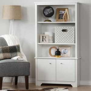 Vito - 3-Shelf Bookcase with Doors