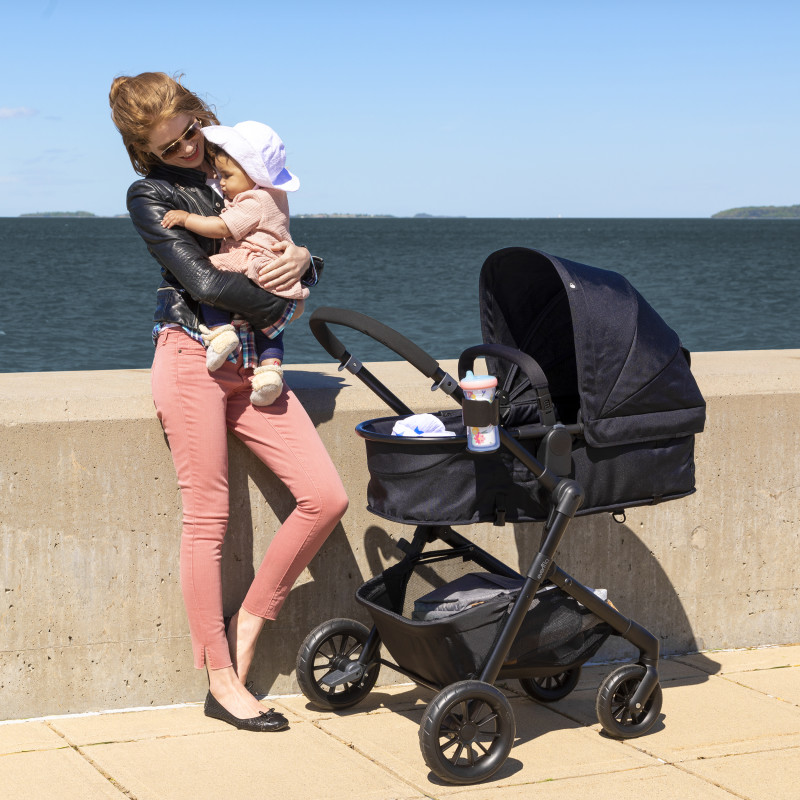 Pivot® Modular Travel System With Safemax™ Car Seat (Dusty Rose) Lifestyle Photo