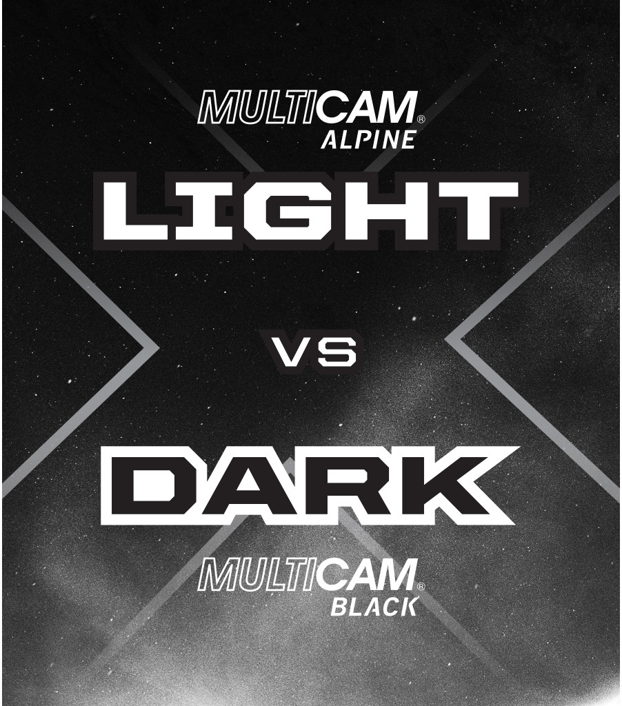 Light vs Dark MultiCam® FastFit® 2-Pack, Black/White, large image number 2