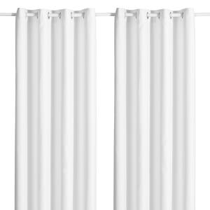 Modern - Ensemble de 2 panneaux de rideaux opaques