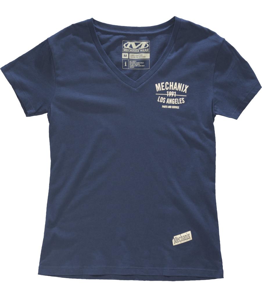 Parts & Service Women's V-Neck, Navy Blue, large image number 0