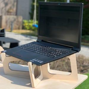 Nature - Support pour ordinateur portable en bois