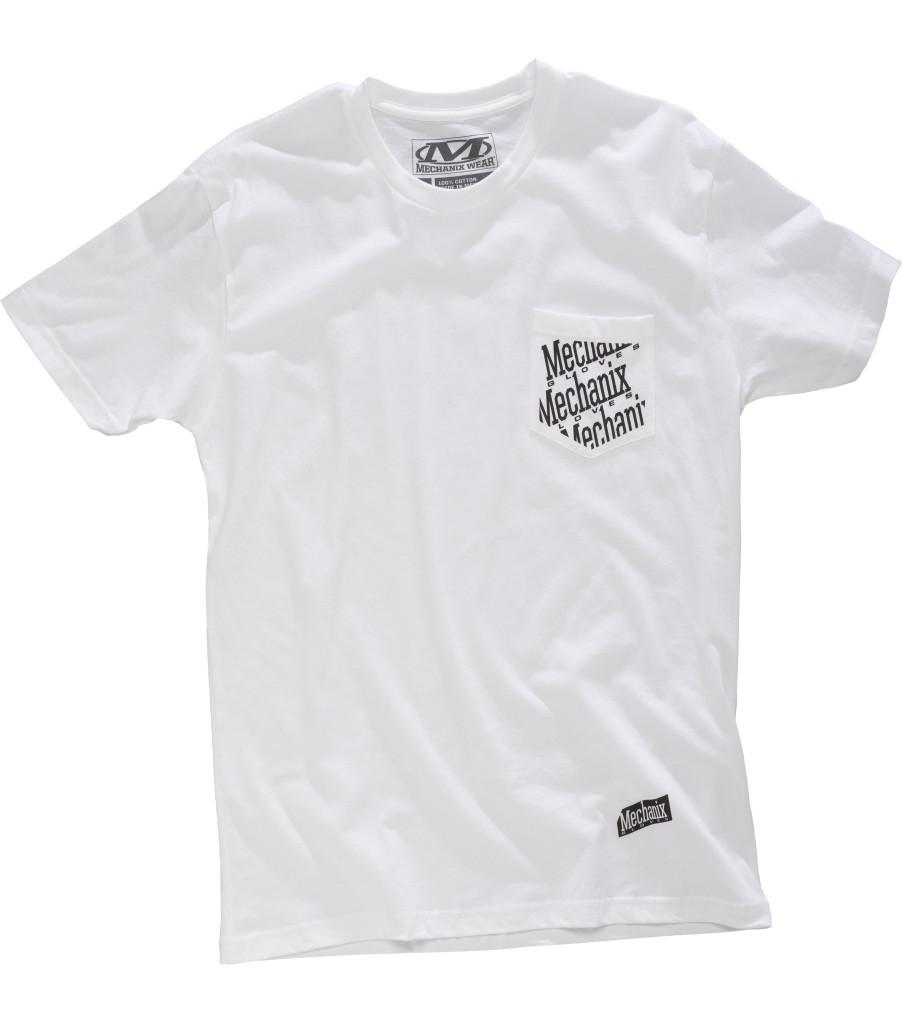 Pocket T-Shirt, White, large image number 0