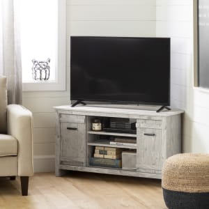 Exhibit - Corner TV Stand