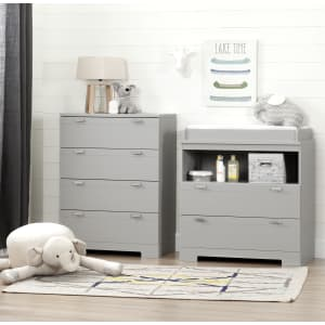 Reevo - Changing Table and 4-Drawer Chest Set