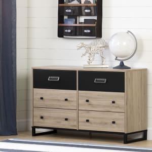 Induzy - 6-Drawer Double Dresser