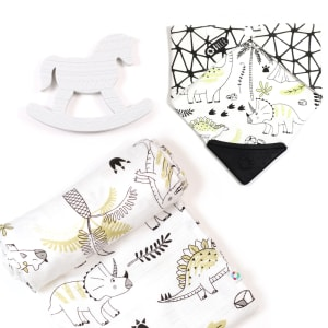 Elli - 3-Piece Gift Set for Babies Sweet Dino