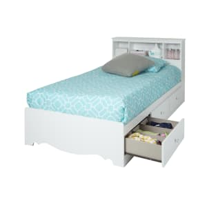 Crystal - Mates Bed with 3 Drawers