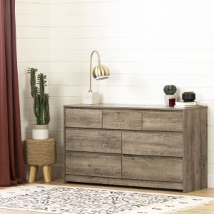 Sazena - 7-Drawer Double Dresser